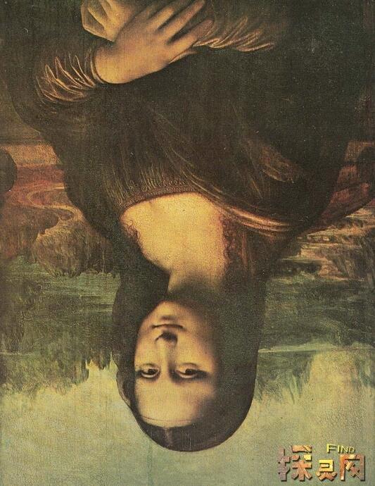 揭秘蒙娜丽莎十大恐怖之处,达芬奇蒙娜丽莎倒过来超诡异