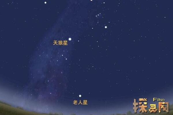 老人星的亮度可能超过天狼星,太空中难以推测的巨星